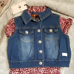 7 for all mankind 24 months jumper and Jean jacket